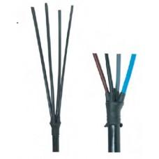 Кінцева муфта холодної усадки внутрішнього EI 5 TF встановлення для 2,3,4,5-тижильних кабелів у полімерній ізоляції.