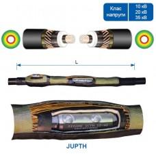 З'єднувальна термоусаджувальна муфта JUPTH для одножильного кабелю у полімерній ізоляції.